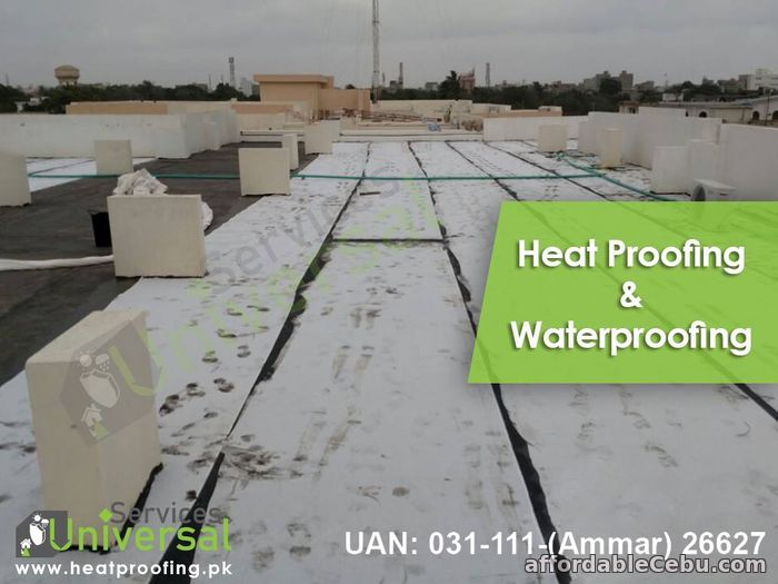 1st picture of Best Heat Proofing And Water Proofing Service Entire Karachi Pakistan Offer in Cebu, Philippines