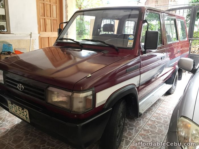 1st picture of Toyota Tamaraw Fx Model 1995 For Sale in Cebu, Philippines