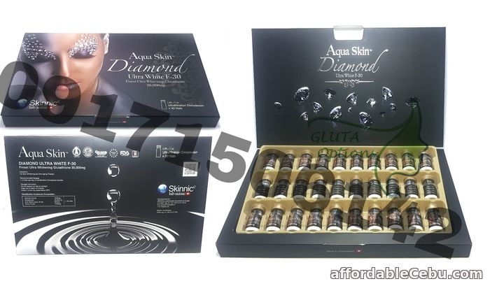 1st picture of NEWEST AQUASKIN DIAMOND 30 vials For Sale in Cebu, Philippines