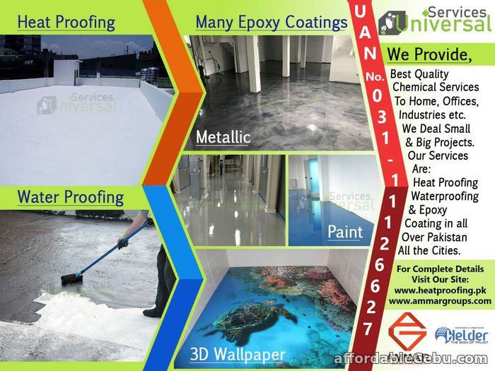 1st picture of Water/Heat Proofing & Epoxy Coating For Sale in Cebu, Philippines