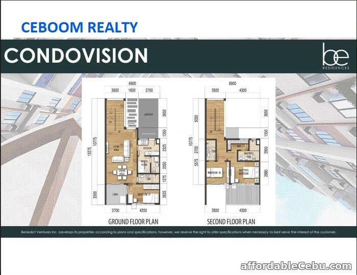 3rd picture of Be Residences Condovision unit with Parking in Lahug For Sale in Cebu, Philippines