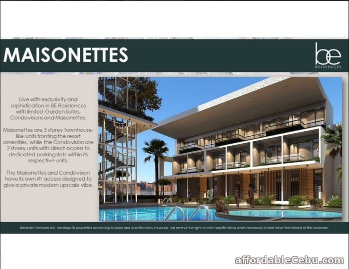 1st picture of Resort Style Condominium near IT Park - Be Residences For Sale in Cebu, Philippines