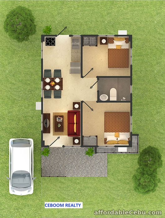 2nd picture of Bungalow Single Detached house in Amoa by Aboitiz Subd w/ 3 Pools For Sale in Cebu, Philippines