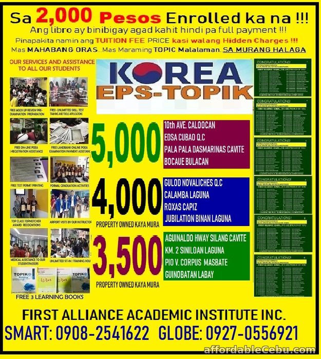 2nd picture of LEARN KOREAN LANGUAGE Offer in Cebu, Philippines