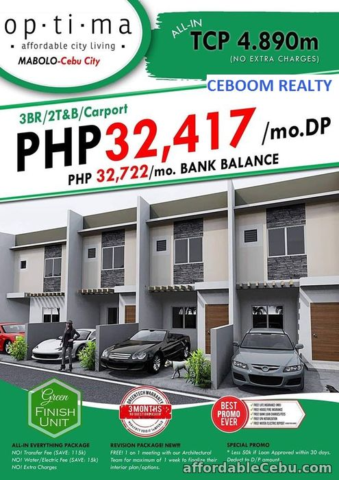 1st picture of 1Townhouse Left in Mabolo For Sale For Sale in Cebu, Philippines