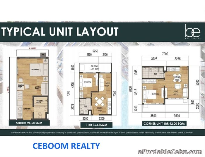 4th picture of One Bedroom Condo with Balcony in Lahug - Be Residences For Sale in Cebu, Philippines