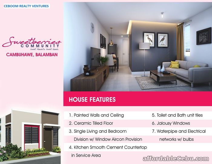 2nd picture of Low Cost Housing in Balamban P4,861/mo DP For Sale in Cebu, Philippines