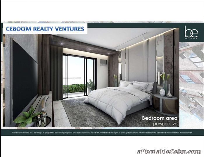 2nd picture of One Bedroom Condo with Balcony in Lahug - Be Residences For Sale in Cebu, Philippines