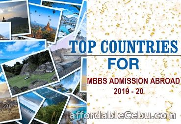 1st picture of Study MBBS from Abroad 2019-20 Announcement in Cebu, Philippines