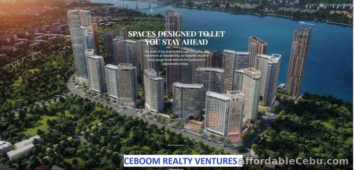 1st picture of Mandani Bay Quay Tower Studio Semi Furnish For Sale in Cebu, Philippines