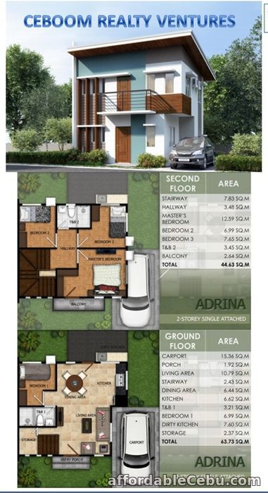 1st picture of Single Attached house in Minglanilla at Modena Townsquare For Sale in Cebu, Philippines