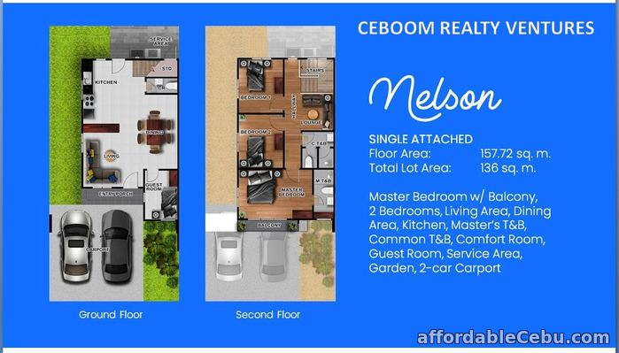2nd picture of Breeza Scapes - Nelson Single Attached at Looc Lapu2x For Sale in Cebu, Philippines