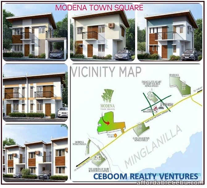2nd picture of Single Attached house in Minglanilla at Modena Townsquare For Sale in Cebu, Philippines
