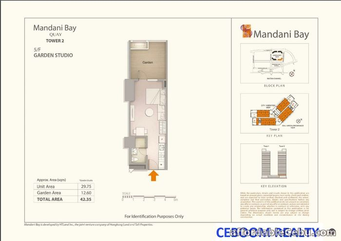 3rd picture of Mandani Bay Quay Tower Studio Semi Furnish For Sale in Cebu, Philippines