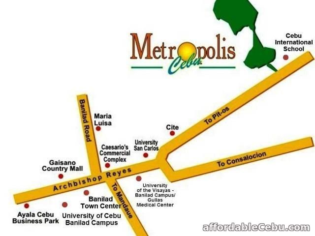 4th picture of Metropolis House for Sale in Talamban Cebu City For Sale in Cebu, Philippines