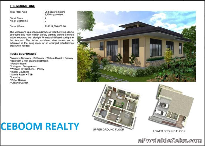 1st picture of House for sale in Balamban - Moonstone Model For Sale in Cebu, Philippines