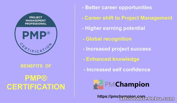 2nd picture of PMP Certification Exam Online Training Offer in Cebu, Philippines