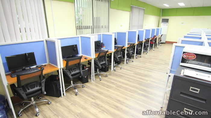 3rd picture of Flexible Workplaces Included in BPOSeats' Seat Lease Service For Rent in Cebu, Philippines