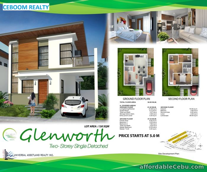 2nd picture of House for sale in Minglanilla - Glenworth at Crescent Ville For Sale in Cebu, Philippines