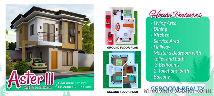 3rd picture of House for sale in Consolacion Single detached For Sale in Cebu, Philippines