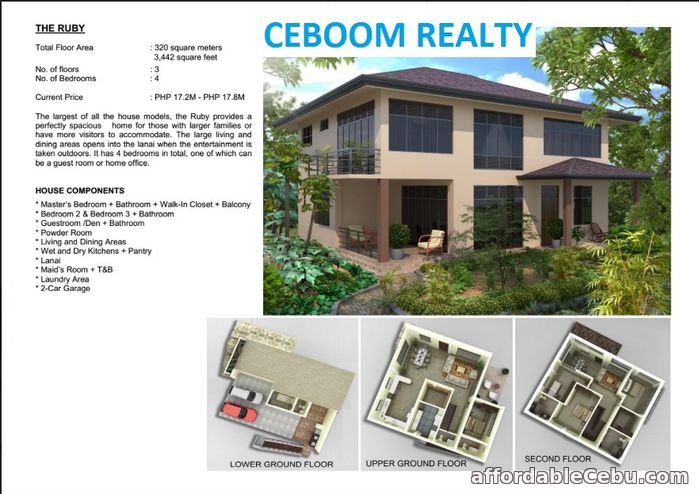 1st picture of House for Sale in Balamban - Amonsagana Ruby Model For Sale in Cebu, Philippines
