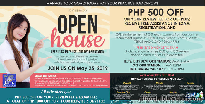 1st picture of JROOZ Open House May 25, 2019 Offer in Cebu, Philippines