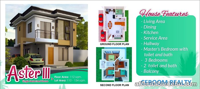 2nd picture of Anami Homes Consolacion Single Detached For Sale in Cebu, Philippines
