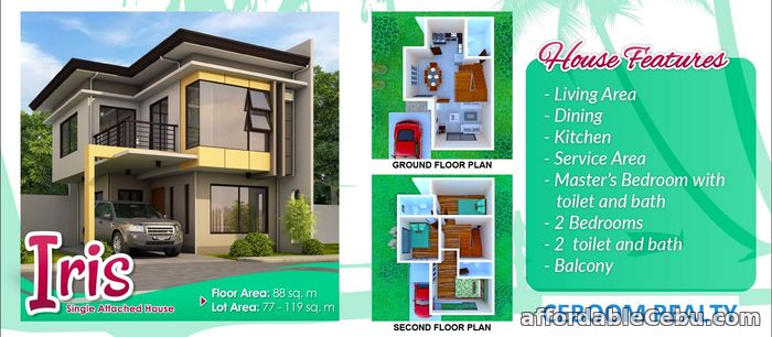 1st picture of Anami Homes Consolacion Single Attached For Sale in Cebu, Philippines
