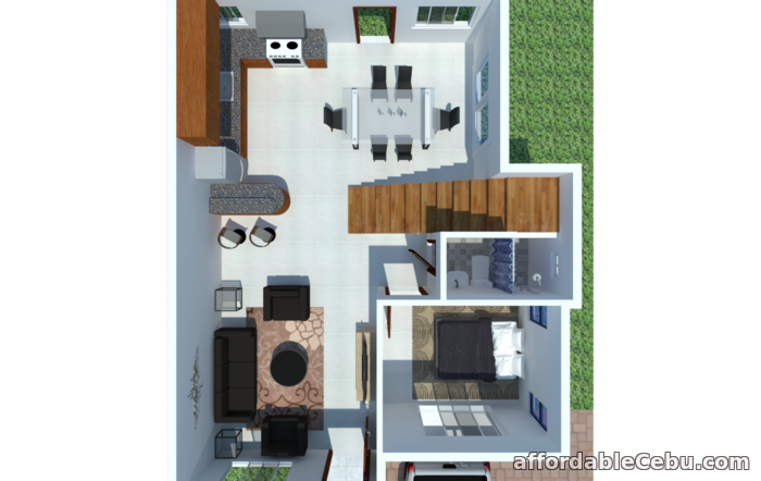 2nd picture of Single Attached w/ Roof Deck Liloan - Citaa Village For Sale in Cebu, Philippines