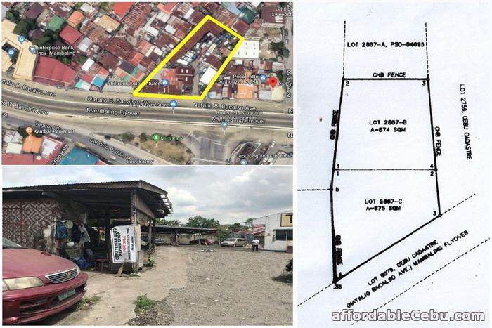1st picture of Commercial Lot For rent/sale in Mambaling 1,750 sqm For Rent in Cebu, Philippines