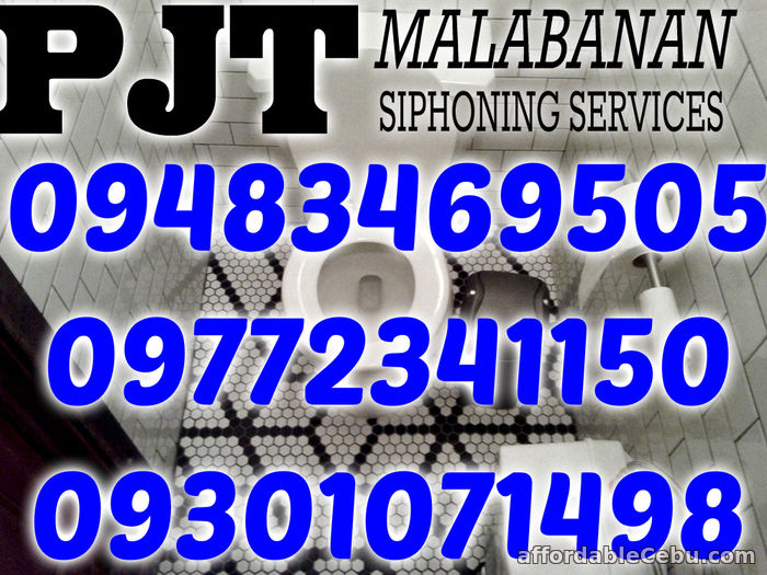 1st picture of PJT MALABANAN SIPHONING SERVICES 09301071498 KABANKALAN,LA CARLOTA For Sale in Cebu, Philippines