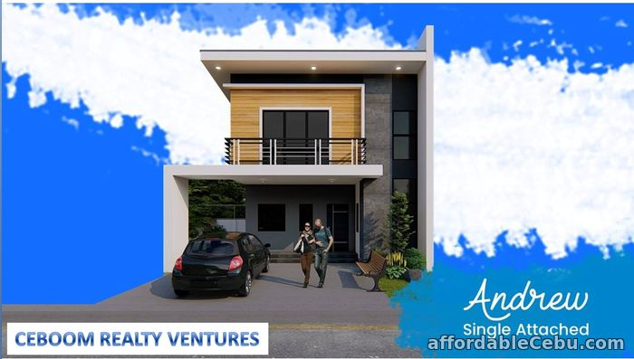 1st picture of Breeza Scapes 2 Parking Single Attached House For sale Lapu2x For Sale in Cebu, Philippines