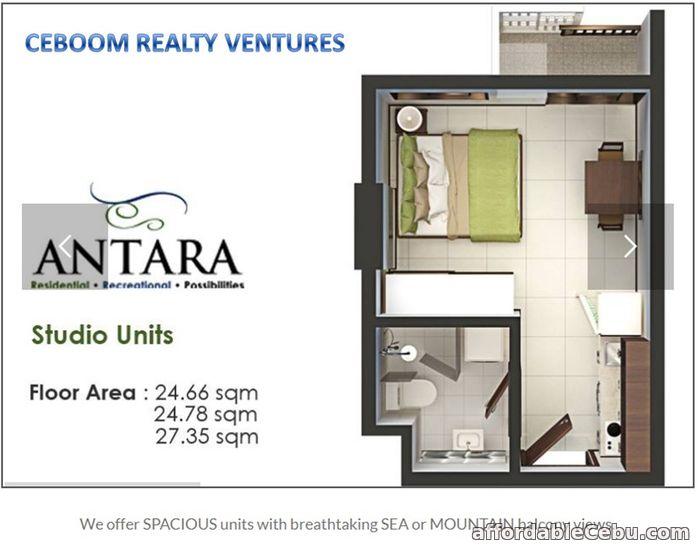 3rd picture of Studio Unit at Antara Condominium Lawaan Talisay For Sale in Cebu, Philippines