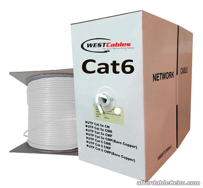 1st picture of Cat6 Plenum 1000FT Networking Cable For Sale in Cebu, Philippines