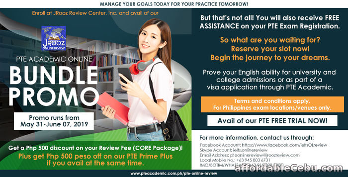 1st picture of JROOZ PTE Academic Online Bundle Promo May 31 – June 7, 2019 Offer in Cebu, Philippines