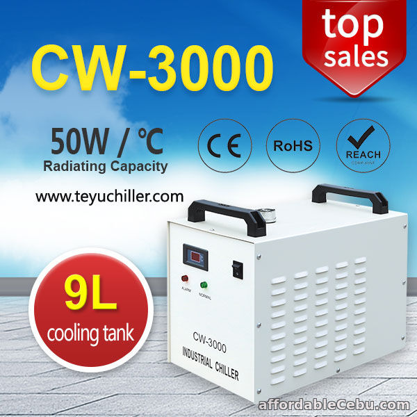 1st picture of Small Water Chiller CW3000 for CNC Engraving Machine Spindle For Sale in Cebu, Philippines