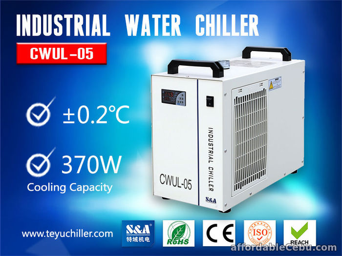 1st picture of Small Portable Chiller for UV Laser Marking Machine For Sale in Cebu, Philippines