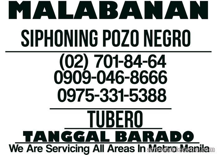 1st picture of TUBERO TANGGAL BARADO VALENZUELA CITY 09090468666 09753315388 701-8464 DECLOGGING Offer in Cebu, Philippines