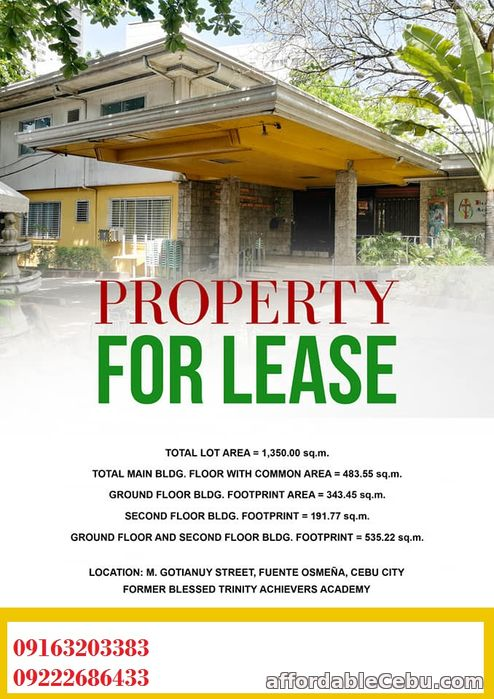 2nd picture of Property For Lease Ideal for Restaurants, School, Office For Rent in Cebu, Philippines