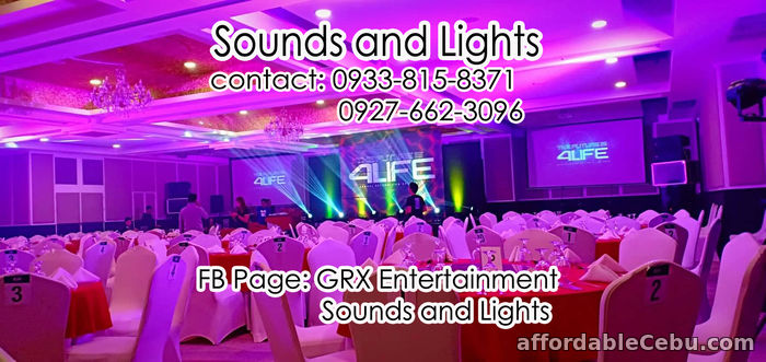 1st picture of Sound System for Rent Cebu City For Rent in Cebu, Philippines