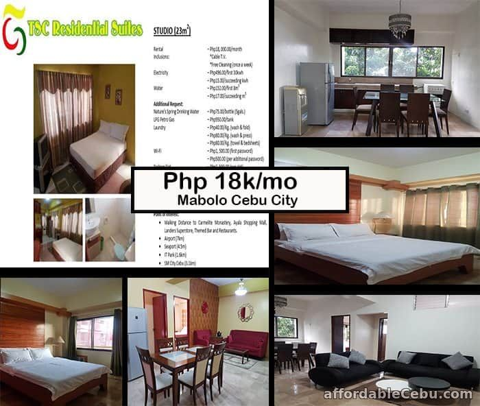 1st picture of Executive and cleanest studio, 2BR and 3BR Condo-Apartment in Cebu City For Rent in Cebu, Philippines