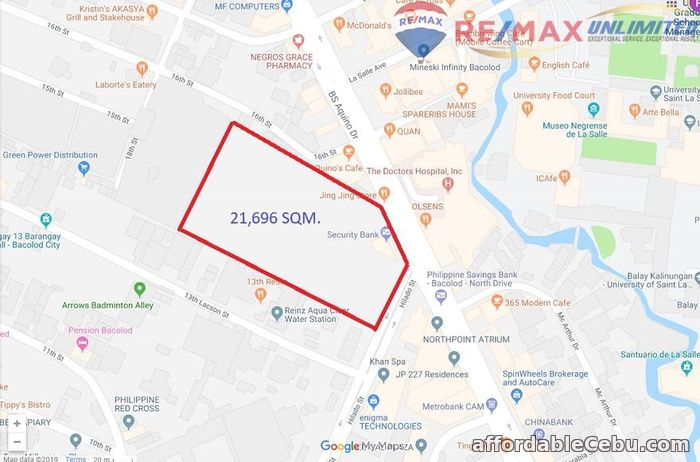 3rd picture of For Sale: COMMERCIAL LOT IN BACOLOD CITY For Sale in Cebu, Philippines