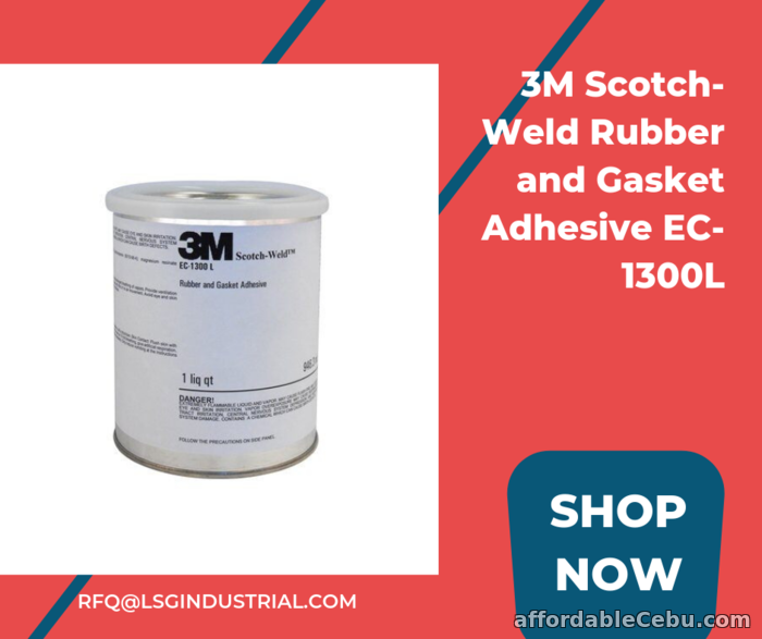 1st picture of 3M Scotch-Weld Rubber and Gasket Adhesive EC-1300L For Sale in Cebu, Philippines