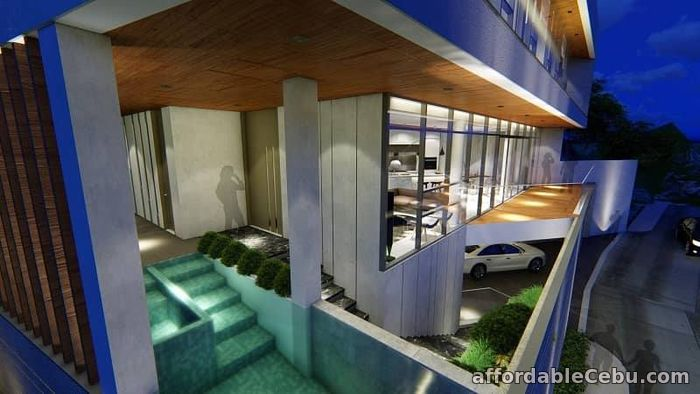 3rd picture of Overlooking Modern House with pool and elevator in Cebu City For Sale in Cebu, Philippines