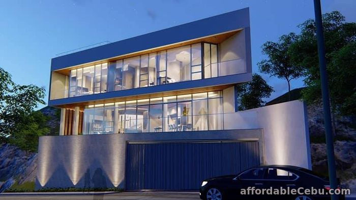 1st picture of Overlooking Modern House with pool and elevator in Cebu City For Sale in Cebu, Philippines