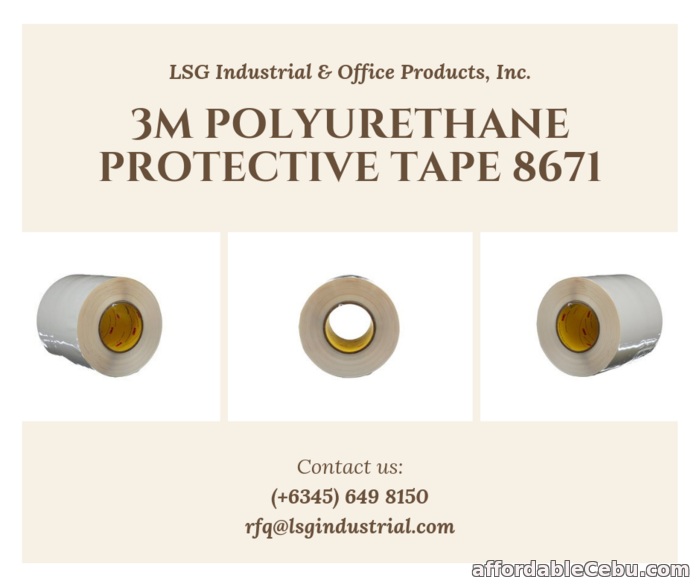 1st picture of 3M Polyurethane Protective Tape 8671 Transparent Kit For Sale in Cebu, Philippines