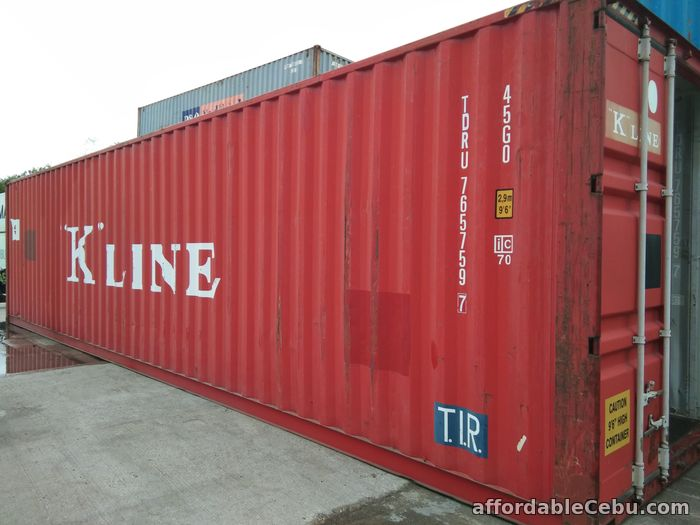 1st picture of 40 footer standard shipping container For Sale in Cebu, Philippines