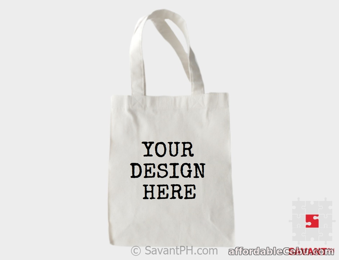1st picture of Personalized Canvas Bags Philippines For Sale in Cebu, Philippines
