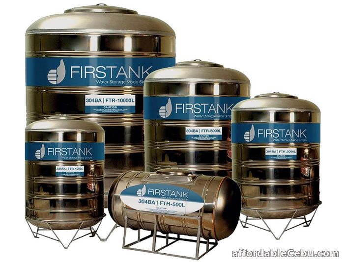 1st picture of FIRSTANK WATER TANK For Sale in Cebu, Philippines