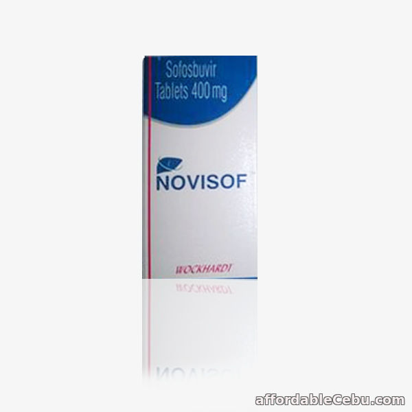 1st picture of Novisof 400 mg Sofosbuvir Tablet in Philippines for Hepatitis C Treatment For Sale in Cebu, Philippines